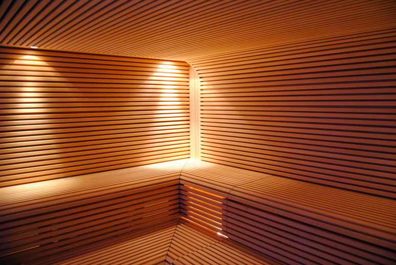 KJUBiK Innenarchitektur Sauna Wellness